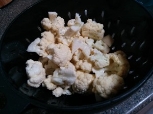 Chopped cauliflower