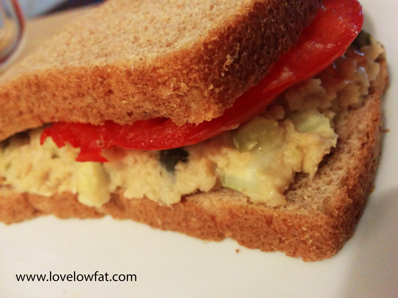 vegan tuna salad sandwich