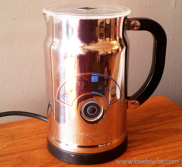 Nespresso Milk Frother Review Love Low Fatlove Low Fat